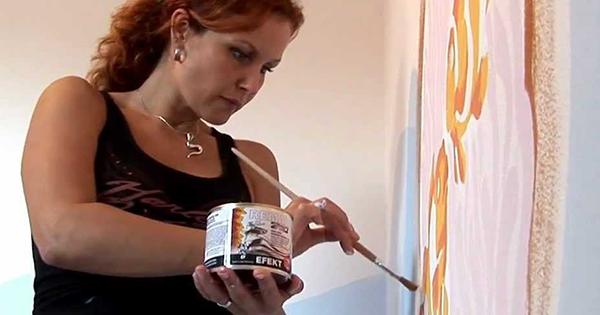 Ako na dekoratívne maľby na stenu
